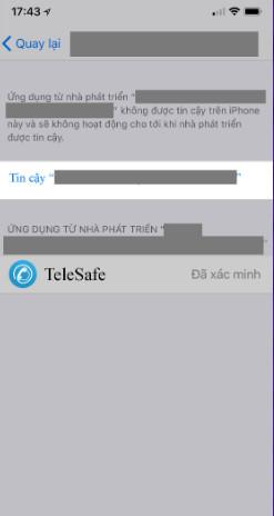 Hình ảnh telesale online in Tải telesafe ios - Cài đặt telesafe cho iPhone bản mới